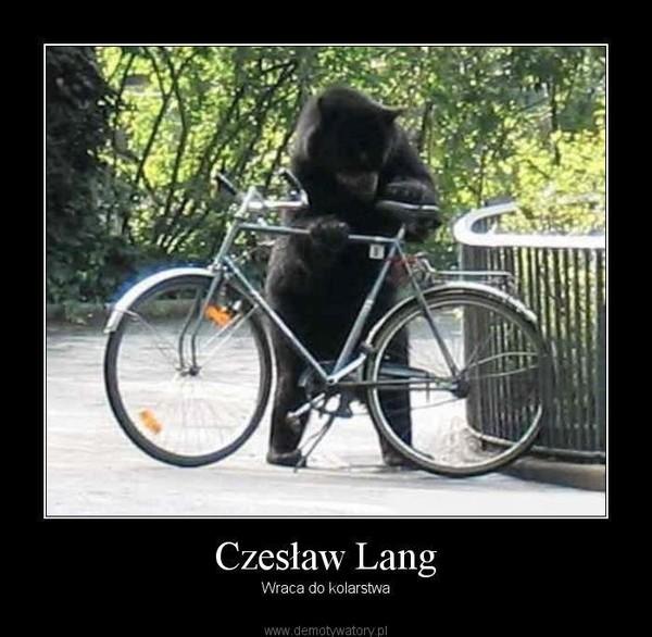 Czesław Lang – Wraca do kolarstwa