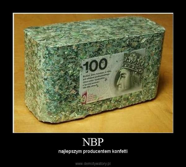 NBP – najlepszym producentem konfetti
