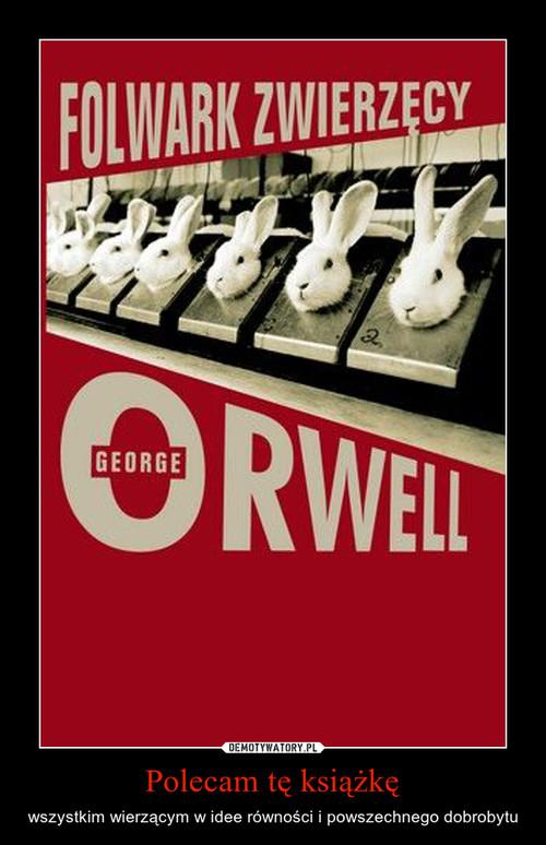 Polecam tę książkę