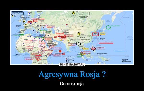 Agresywna Rosja ? – Demokracja