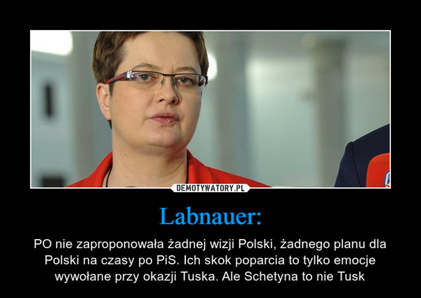 Labnauer: – PO nie zaproponowała żadnej wizji Polski, żadnego planu dla Polski na czasy po PiS. Ich skok poparcia to tylko emocje wywołane przy okazji Tuska. Ale Schetyna to nie Tusk
