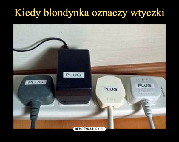 –  plug