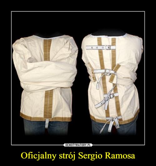 Oficjalny strój Sergio Ramosa