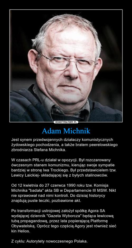 Adam Michnik