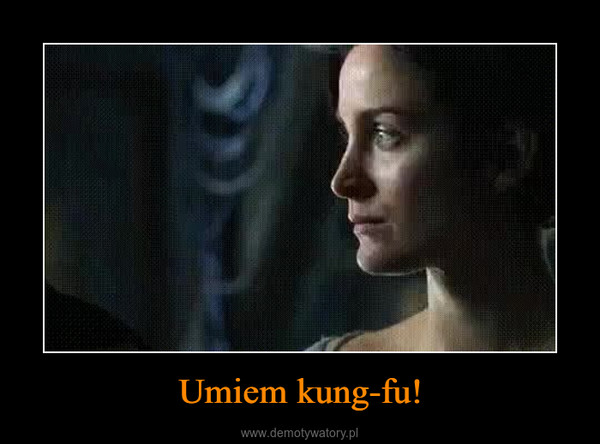 Umiem kung-fu! –