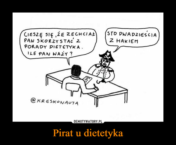 Pirat u dietetyka –