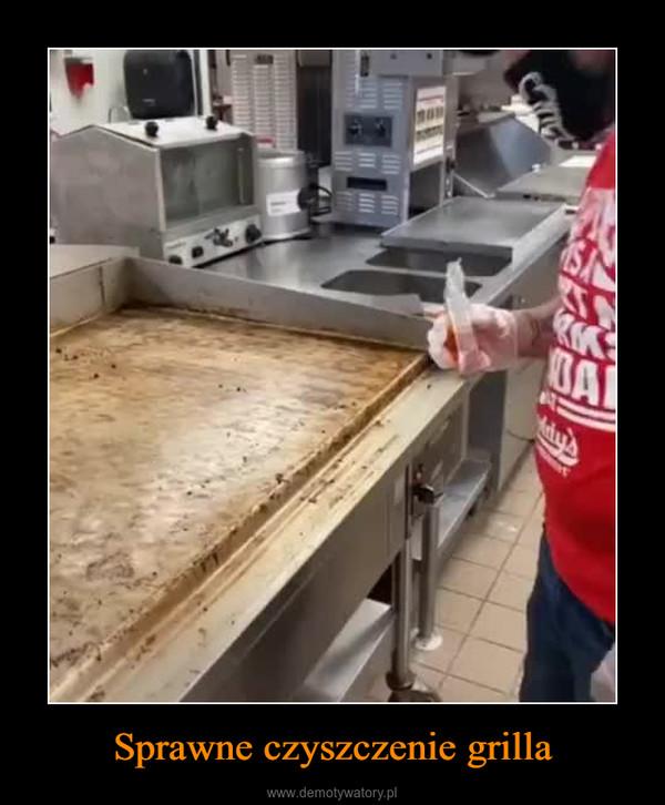 Sprawne czyszczenie grilla –