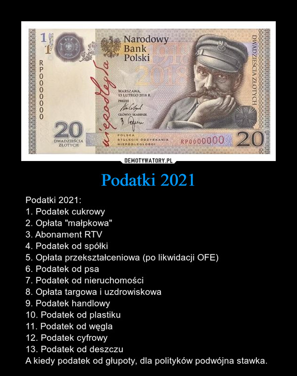 Podatki 2021