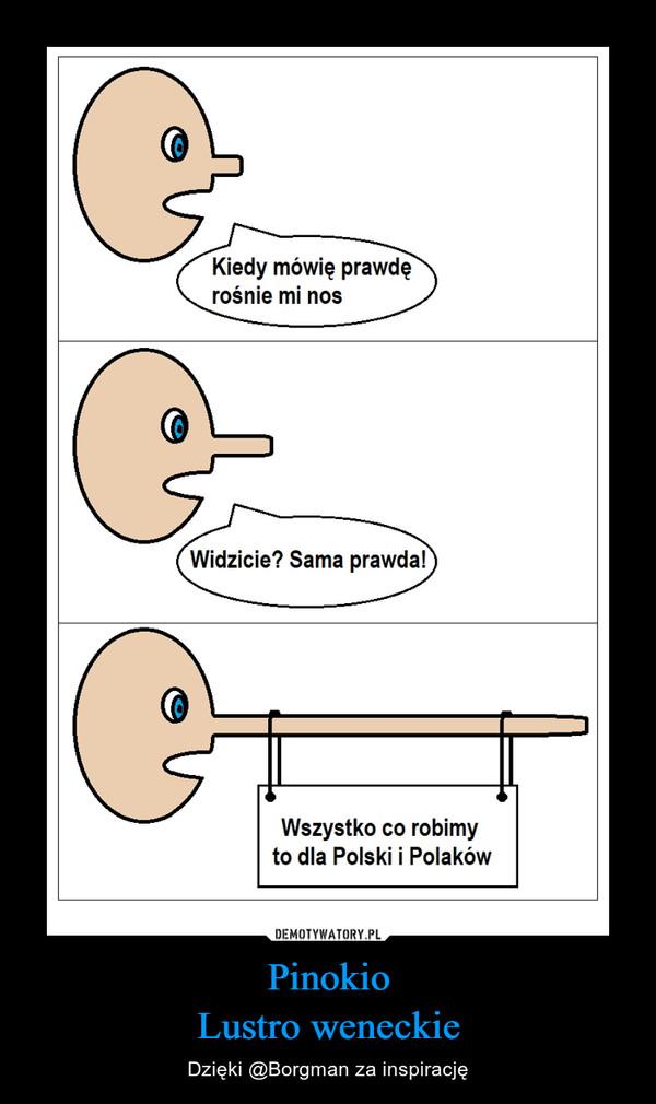 PinokioLustro weneckie – Dzięki @Borgman za inspirację