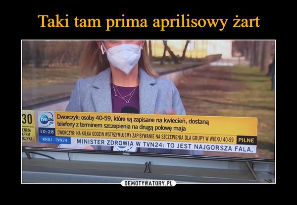 –  Dworczyk: osoby 40-59, które są zapisane na kwiecień, dostaną telefony z terminem szczepienia na drugą połowę maja