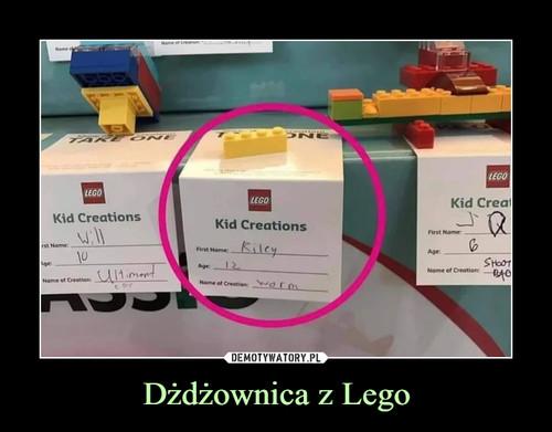 Dżdżownica z Lego