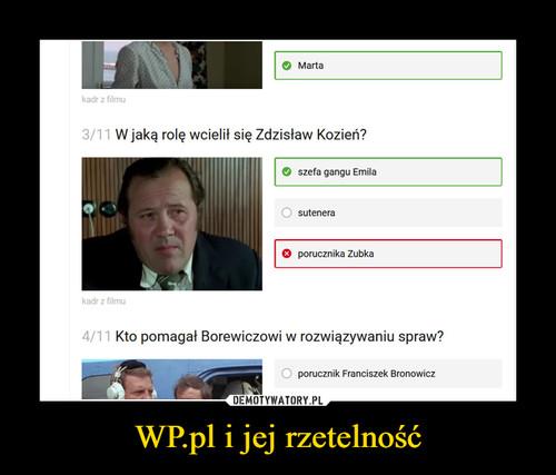 WP.pl i jej rzetelność