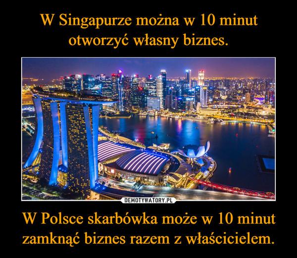 W Polsce skarbówka może w 10 minut zamknąć biznes razem z właścicielem. –