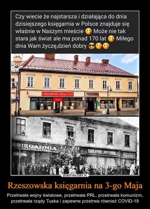 Rzeszowska księgarnia na 3-go Maja