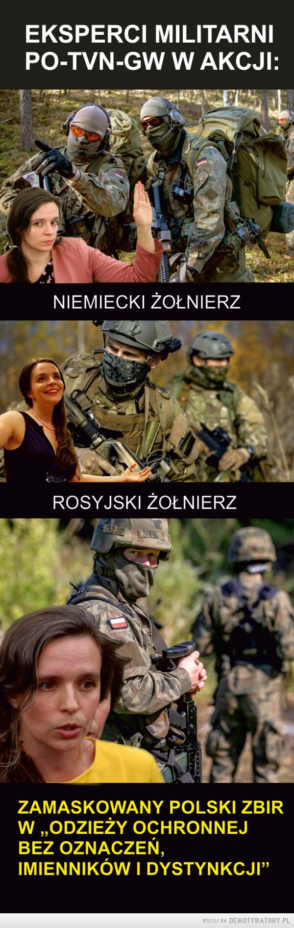 Eksperci wojskowi PO-TVN-GW w akcji – Eksperci wojskowi PO-TVN-GW w akcji