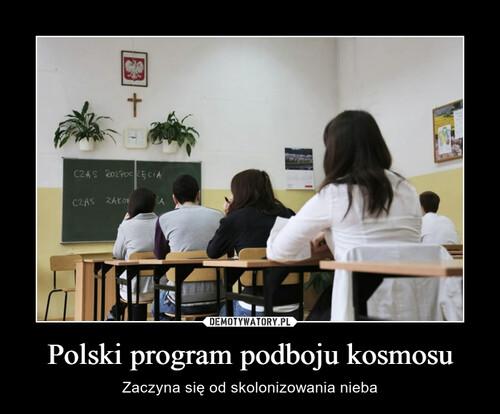 Polski program podboju kosmosu