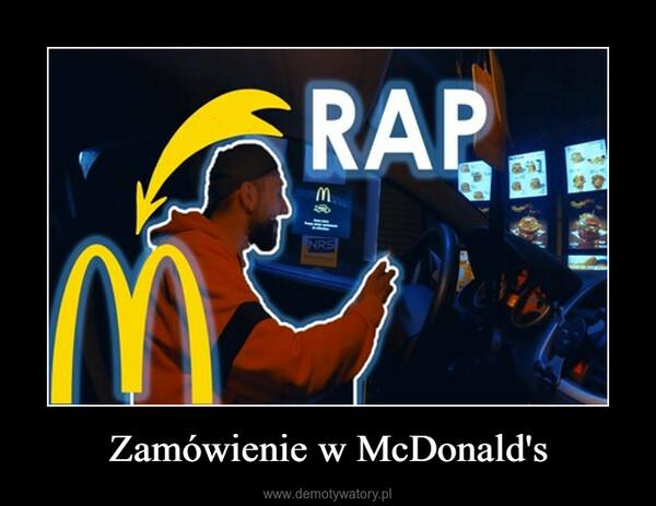 Zamówienie w McDonald's –